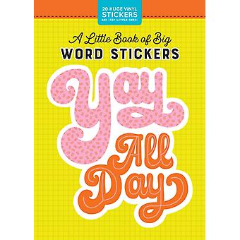 Little Book of Big Word Stickers by Workman