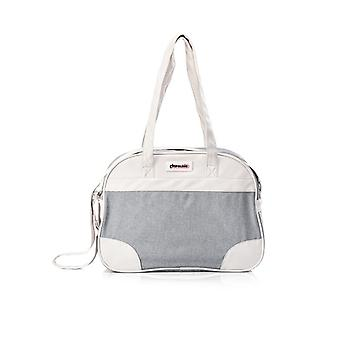 Chipolino changing bag, sporty design, zipper, changing pad grey
