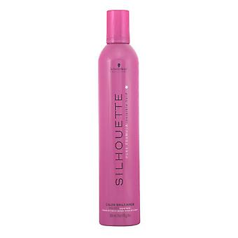 Strong Hold Mousse Silhouette Schwarzkopf (500 ml) Farbiges Haar