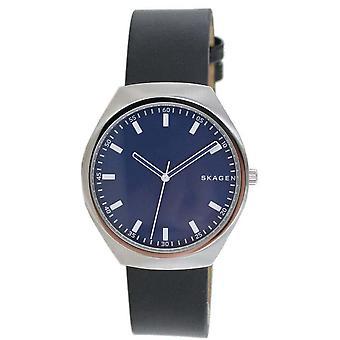 Reloj de hombre Skagen reloj de cuero Grenen SKW6385