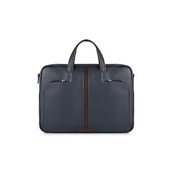 Briefcase Blue Piquadro Man