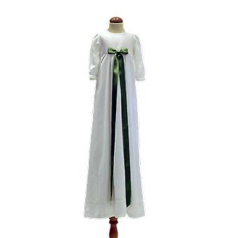 Dopklänning Med Ljusgrön Rosett, Grace Of Sweden Pr.la