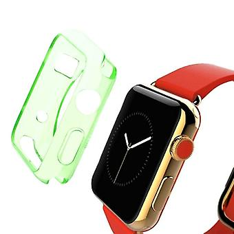 Green For Apple Watch 1,2,3,4 (44mm,42mm) Slim TPU Protective Case