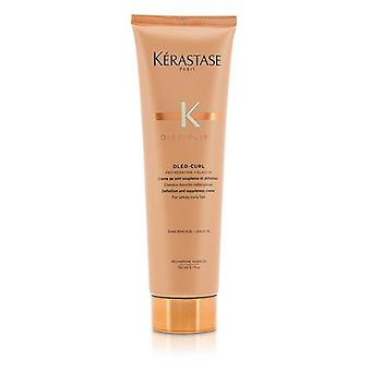 Kerastase Disziplin Oleo-curl Definition und Suppleness Creme (für widerspenstig lockiges Haar) - 150ml/5.1oz