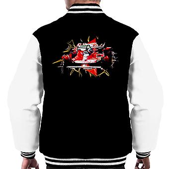 Motorsport Images Ferrari 312T4 Gilles Villeneuve Turn Men's Varsity Jacket