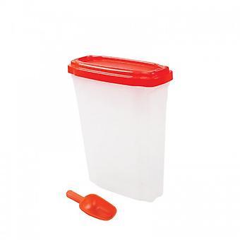 Pawise-rehu säiliö 18L (koirat, kulhot, syöttö laitteet & vesi automaatit)