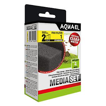 Aquael Recambio Esponja Filtro Fan-1-Plus (2 Uni)