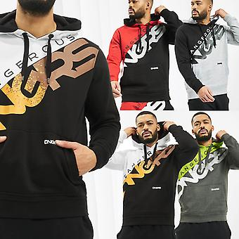 Men's Hooded Sweater DNGRS Hoody Sweat Shirt Longsleeve with Logo Proteles Urban