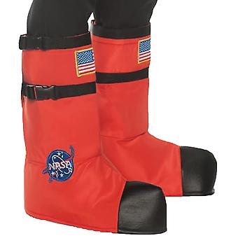 Astonaut Boot Tops Orange Adult