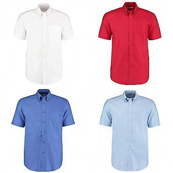 Kustom Kit Mens Workplace Short Sleeve Oxford Shirt