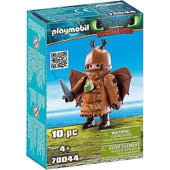 DreamWorks Dragons Fishlegs med flight suit av PLAYMOBIL