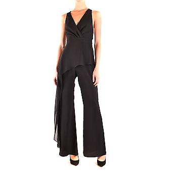 Hh Couture Ezbc432007 Women's Black Polyester Jumpsuit