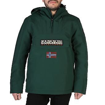 Napapijri Original Men Fall/Winter Jacket - Green Color 38698