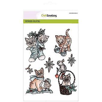 CraftEmotions Clear Briefmarken A5 - Weihnachten Haustiere 2