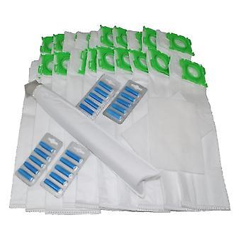 Sebo X serii z mikrofibry torby x 20 filtr i powietrza odświeżacze Service Pack