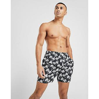 New Mckenzie Men's Bruno Swim Shorts Black