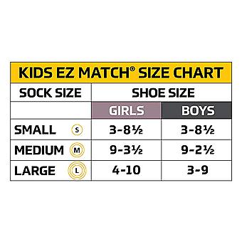 Gold Toe Boys' Wide Rib Dress Crew Socks, 3-Pair, Navy, Small