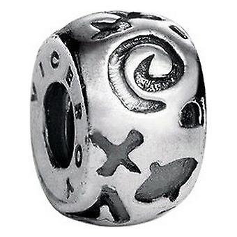 Ladies'Beads Viceroy VMM0032-00 Silver (1 Cm)