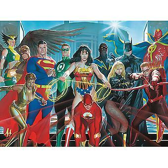 Oikeus Liigan Hahmot Canvas Plate 60 * 80cm