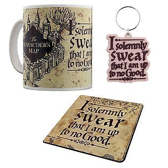 Harry Potter, Gift set-mug, coasters, keychain