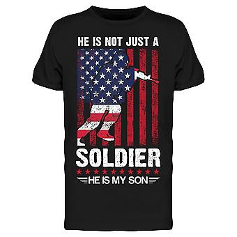 Not Just A Soldier, My Son Tee Men's -Image by Shutterstock Men's T-shirt