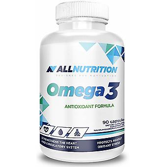 Allnutrition أوميغا 3 90 قبعات