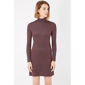 Please Marrone Brown Dress -- PL99043632