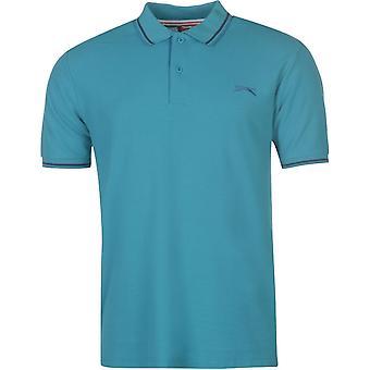 Slazenger gekippt Polo Shirt Herren