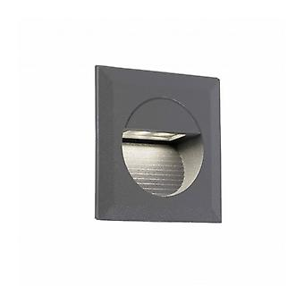 Curtis Dark Gray Garden Downlight