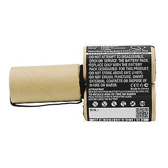 Bateria de vácuo para AEG 900055103 Elektrolux FM CS-AG5103VX 3.6V 3600mAh 12.96Wh