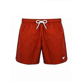 Emporio Armani Red Swim Rövid