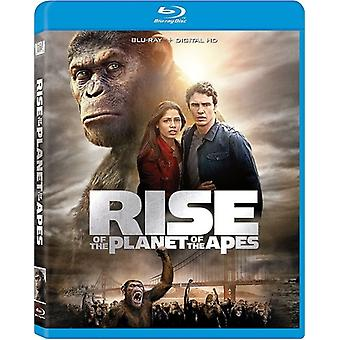 Rise of the Planet of the Apes [Blu-ray] USA import
