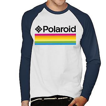Polaroid Logo Men's Baseball langärmeliges T-Shirt