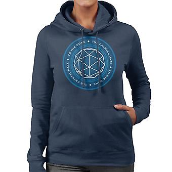 The Crystal Maze Logo Women's Hooded Sweatshirt
