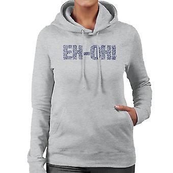 Teletubbies Eh Oh Women's Hooded Sweatshirt