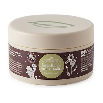 Moisturizing body cream - Flower and root sorbet 180 ml of cream