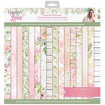 Crafter's Companion Garden of Love 12x12 Inch Paper Pad