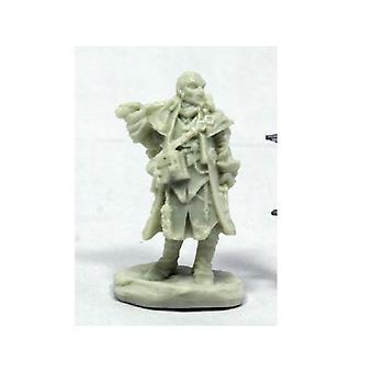Reaper Miniatures Bones Pathfinder Quinn, Iconic Investigator