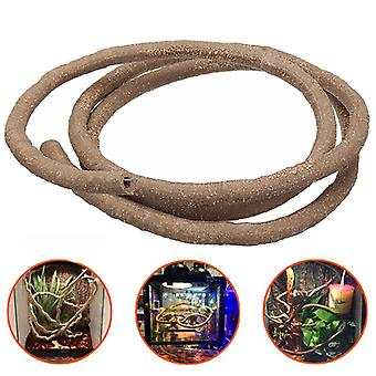 Large Flexible Reptile Habitat Decor Bendable Jungle Climber Vine