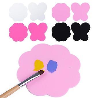 Vaskbar, farverig malet pad, stempling plade nail art og manicure værktøjer