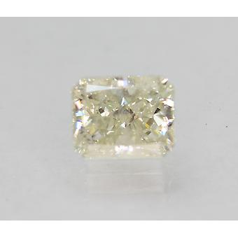Certificado 1.07 Carat J SI1 Radiant Enhanced Natural Loose Diamond 6.38x5.08m 2VG