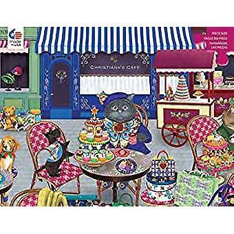 Puzzle - Ceaco - Gigi the Cat The Shopper 300pc New 2249-2