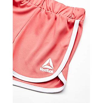 Reebok Girls' Little Sleeve Athletic T-Shirt and Pull-On Short Set, Rainbow d...