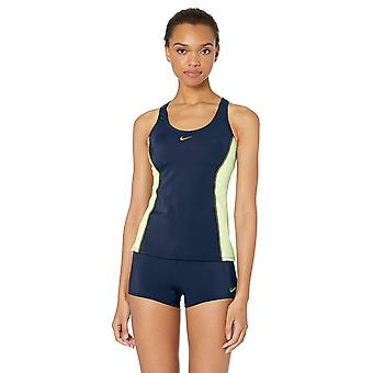Nike Schwimmen Frauen's Farbe Surge Powerback Tankini, Monsun blau, Größe X-large