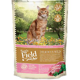 Sam's Field Delicious Wild (Cats , Cat Food , Dry Food)