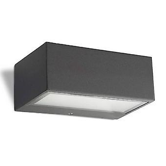 1 Luz da Parede Ao Ar Livre Luz Urbana Cinza IP44