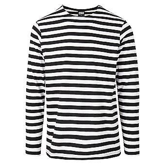 Urban Classics Camicia a maniche lunghe uomo Regular Stripe LS