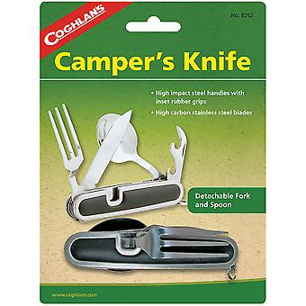科格兰 - 阿波斯坎珀 - 阿波斯刀, 可拆卸叉子和勺子, 露营乌滕西尔餐具