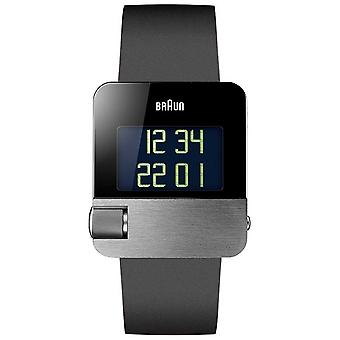 Braun Men's | Prestige | Digital | Black Rubber BN0106SLBKG Watch