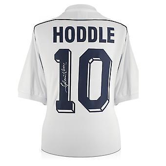 غلين هودل وقع توتنهام هوتسبر 1986 قميص. رقم 10